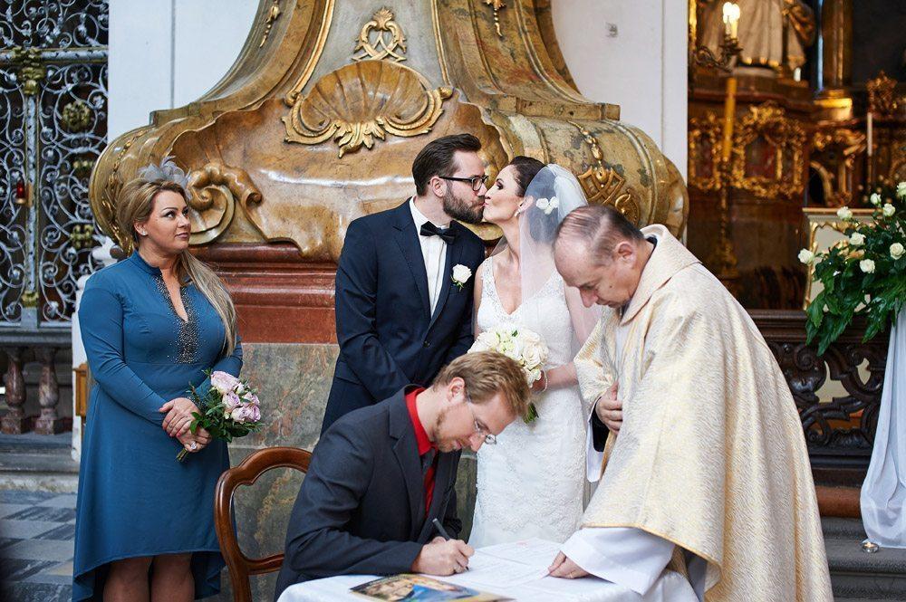 zdjęcia ślubne - ceremonia ślubna