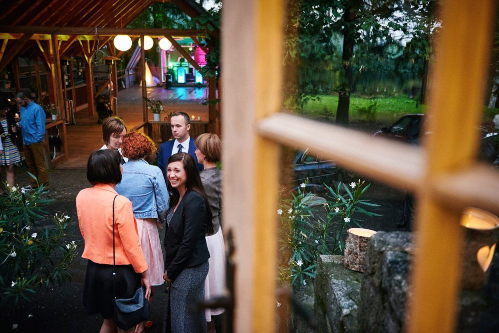 wesele w plenerze - zabawa w pensjonat przełęcz Tąpadła koło Sulistrowiczki