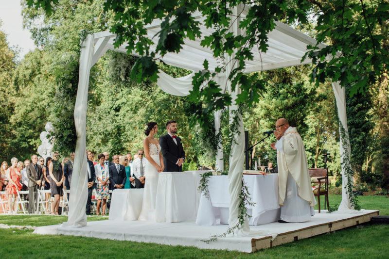 ślub i wesele w Pałacu Rozalin | M & J
