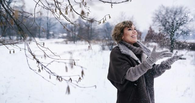 zimowa sesja portretowa | Julianna