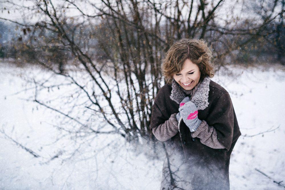 zimowa sesja zdjeciowa Wrocław