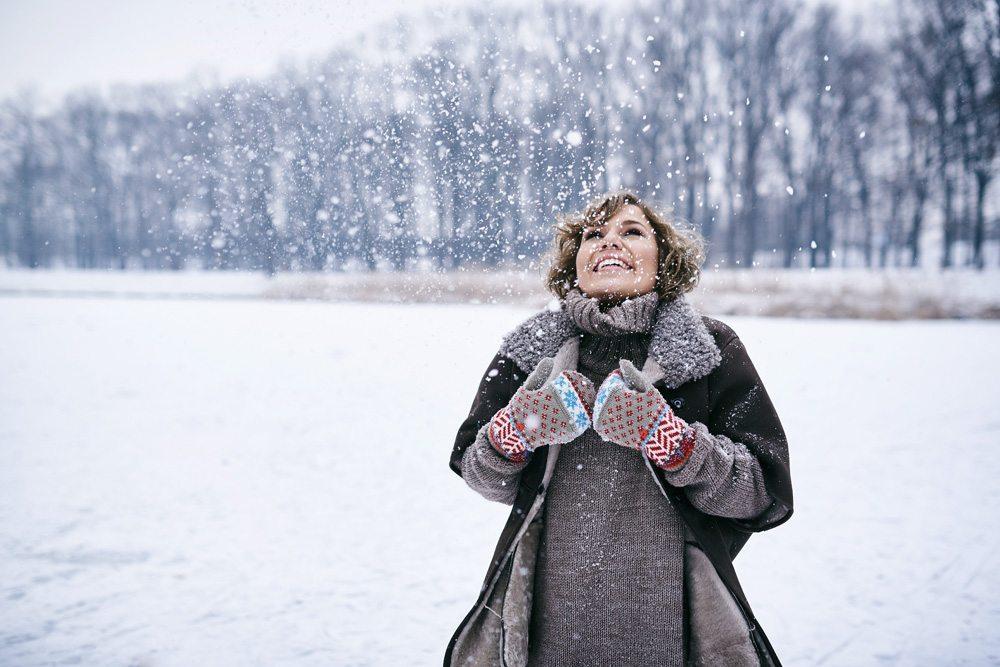 zimowa sesja portretowa Wrocław