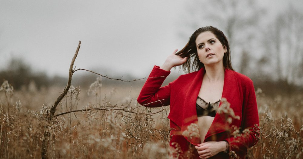 zimowa sesja zdjęciowa | Julia